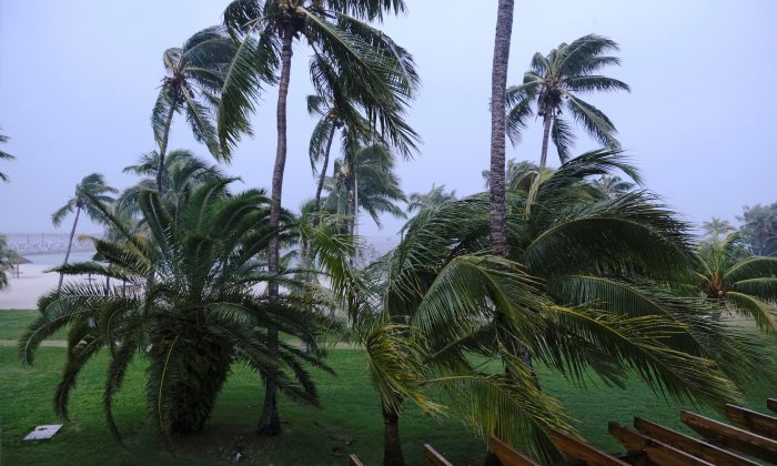 Hurrican Dorian in Bahamas 700x420