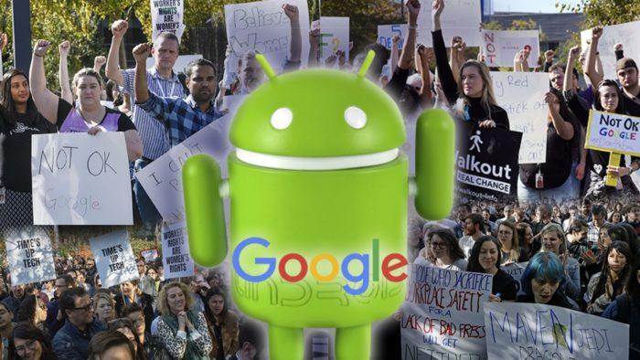 google protest F t