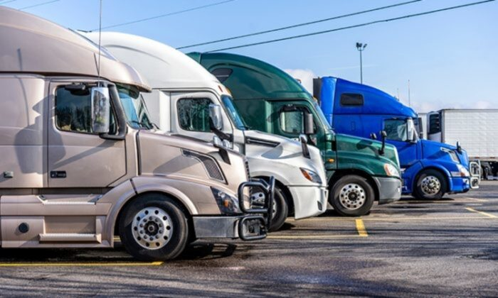 Trucks lined up  700x420 1