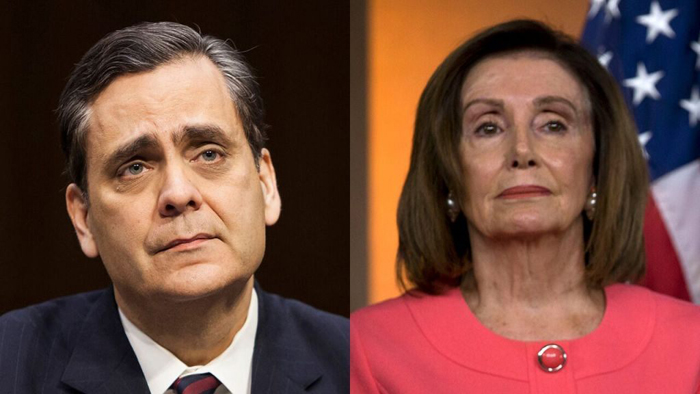 Jonathan Turley pelosi Getty