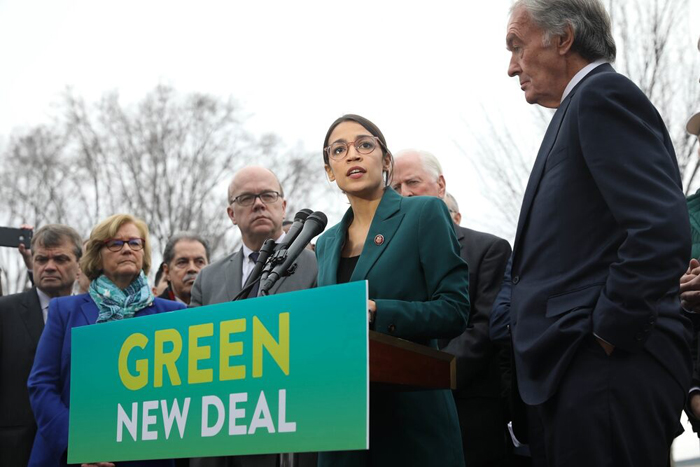 Heritage Foundation researcher Green New Deal