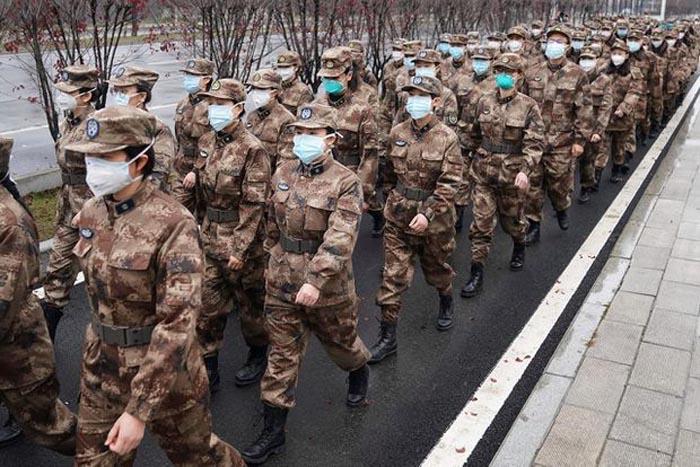 china military coronavirus