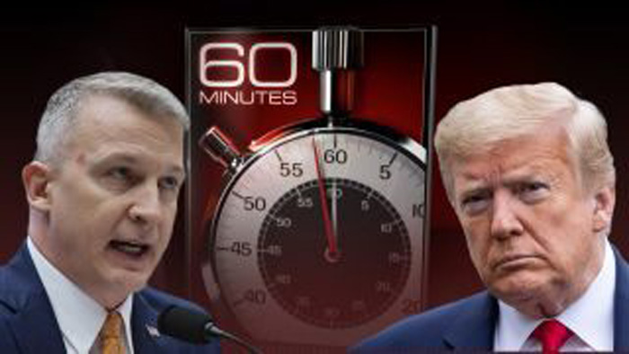 Trump blasts '60 Minutes,' 'creep' HHS whistleblower after broadcast