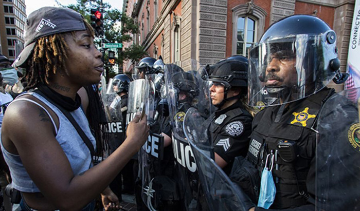 Big-city Dems who had imposed strict lockdowns now let George Floyd rioters flout rules
