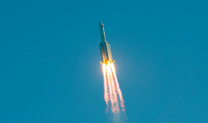 Large chunks of a Chinese rocket missed New York City by about 15 minutes