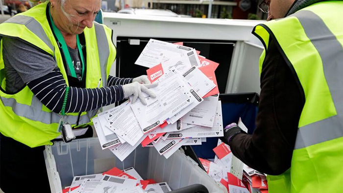South Carolina election ballots reportedly found in Maryland this week