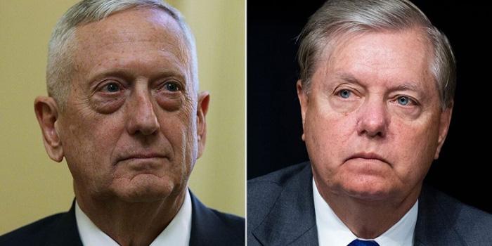 Lindsey Graham fires back at Gen. Mattis: You're buying into an 'unfair' narrative