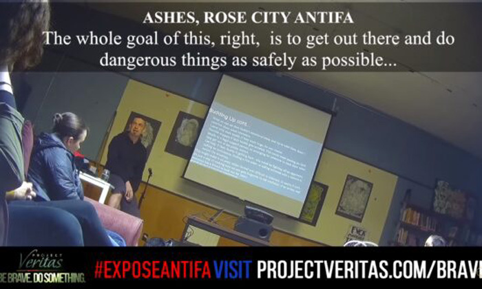 Project Veritas Infiltrates Antifa, Reveals Organized Training in Violent Action