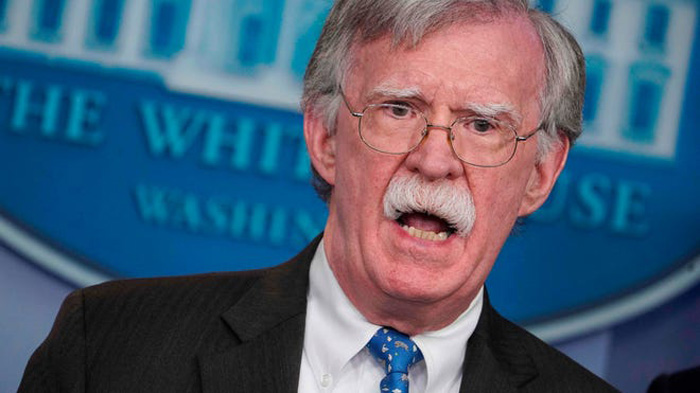 Sarah Sanders slams Bolton as man 'drunk on power,' in her forthcoming book
