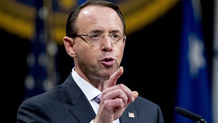 Rod Rosenstein must be grilled by senators Wednesday about his abuse of power