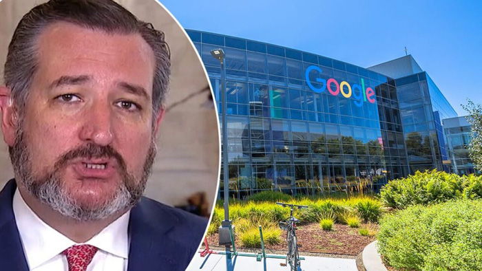 Ted Cruz calls out Google for 'Orwellian' moves, leveraging its 'monopoly' powers