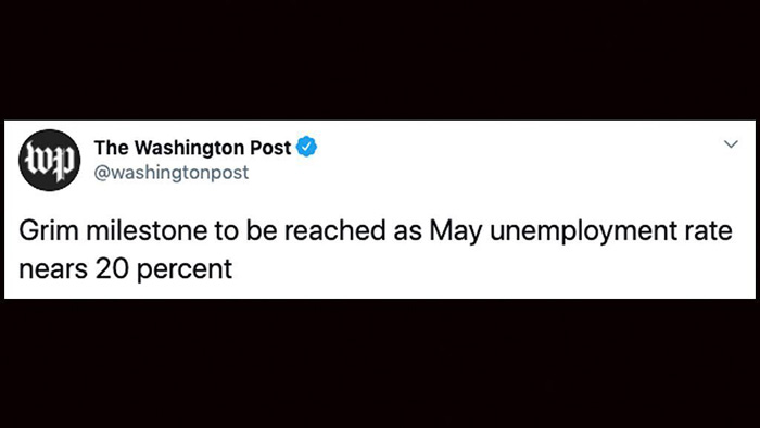 Washington Post blasted over inaccurate 'grim milestone' tweet on unemployment rate: 'It's not true'