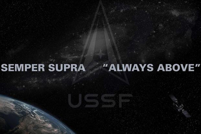 Space Force unveils delta logo and 'semper supra' motto