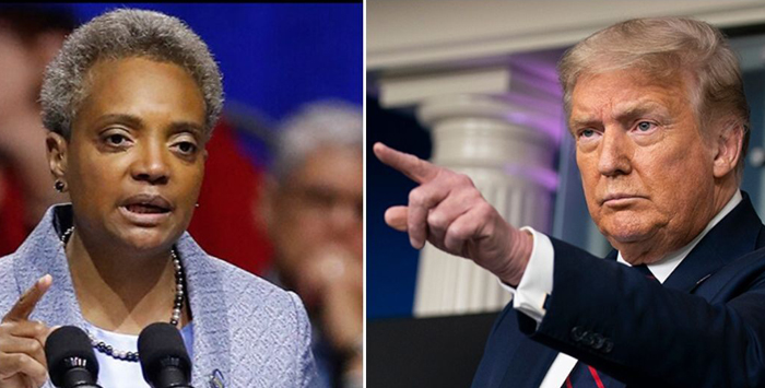 Chicago's Lori Lightfoot tweets against Trump as bullets fly outside funeral home