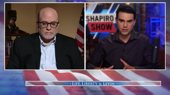 Ben Shapiro tells Mark Levin US is going through 'French Revolution in real time' without guillotines