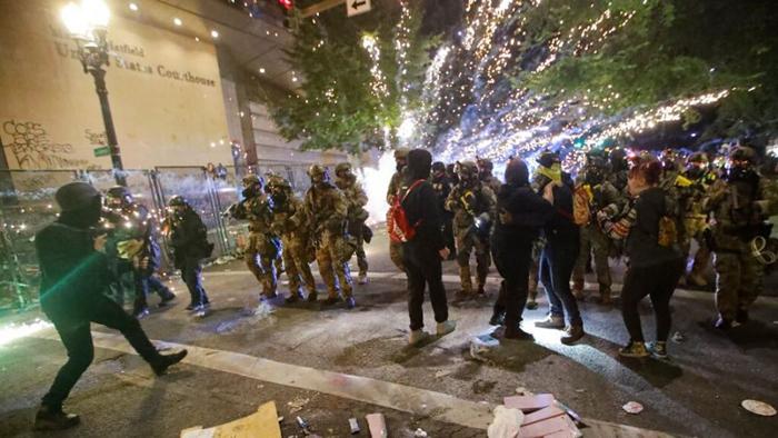 Deroy Murdock: Orwellian Democrats claim Portland's violence = peace