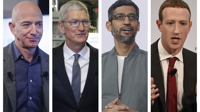Big Tech on Capitol Hill: Facebook, Amazon, Google, Apple CEOs set to testify in antitrust hearing