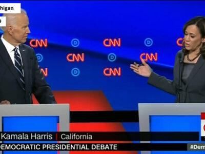 All the times Kamala Harris criticized Joe Biden during the Democratic primary