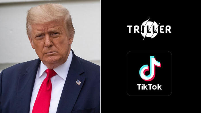 Trump opens verified Triller account amid TikTok crackdown