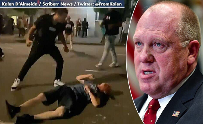 Tom Homan: Portland, liberal city violence puts law and order at center of election— what are Dems' plans?