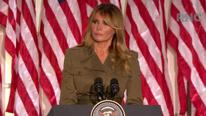 Melania Trump urges end to unrest, calls on country to 'come together' in convention address