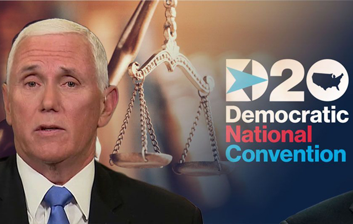 Pence says economy and 'law and order' on ballot as Dems launch 'ad hominem attacks' on president