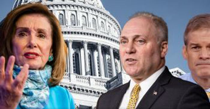 Steve Scalise, Jim Jordan hit back at Pelosi for calling GOP 'enemies of the state': Democrats 'want chaos'