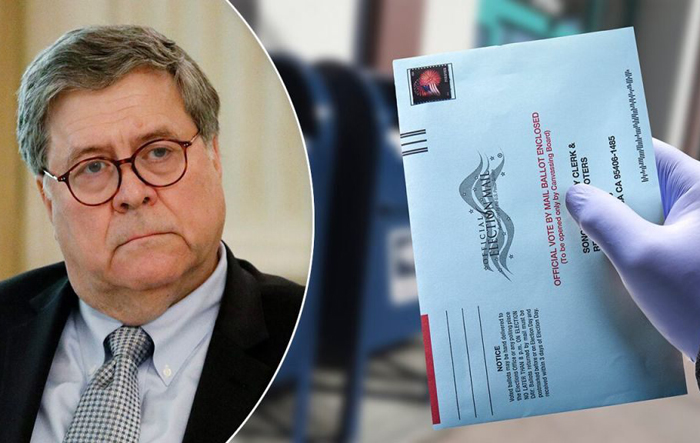 Barr schools CNN anchor on 'reckless and dangerous' mail-in ballot push