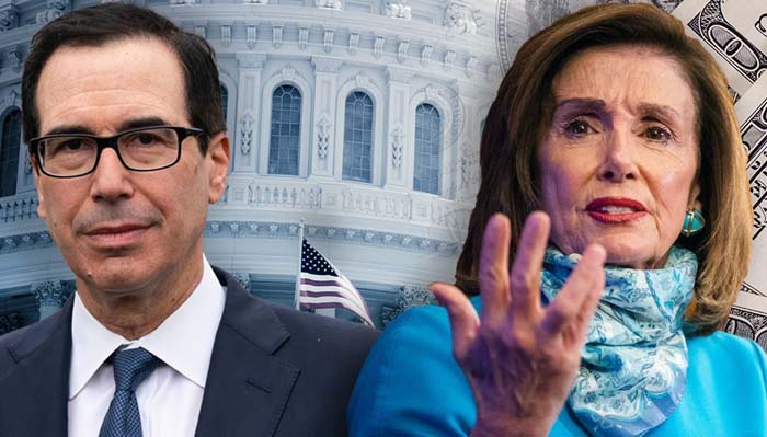 Mnuchin: Pelosi won't negotiate on coronavirus package, but open to avoiding gov't shutdown