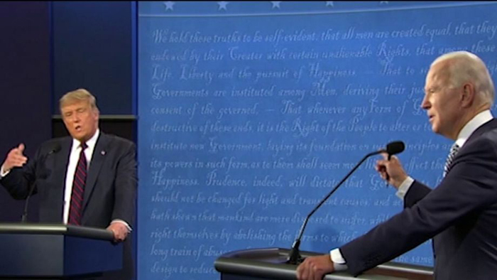 Trump clearly defeats Biden in first presidential debate