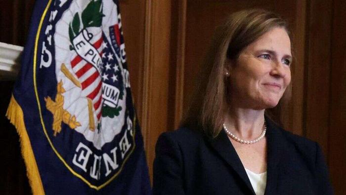 Barrett meets with senators ahead of committee vote on Supreme Court nomination