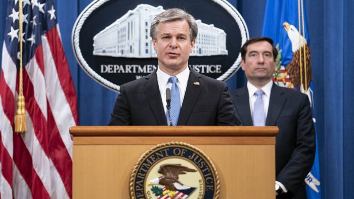 FBI, DOJ announce indictment against 8 Chinese operatives