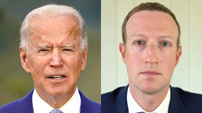 Zuckerberg 'not aware' that Facebook election integrity official worked for Biden