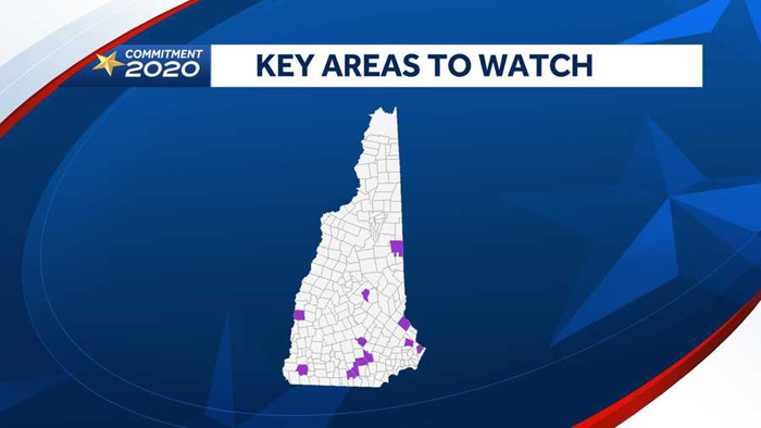 14 key NH cities, wards, towns to watch for early signs of final results after polls close Tuesday