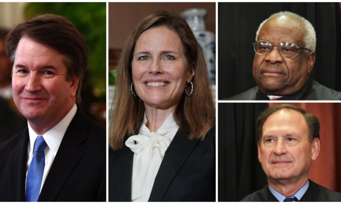 Conservative SCOTUS Justices Assigned to 4 of 6 Contested Election States