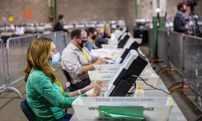 GOP Candidate Appeals Pennsylvania County Decision to Count Undated Mail-In Ballots
