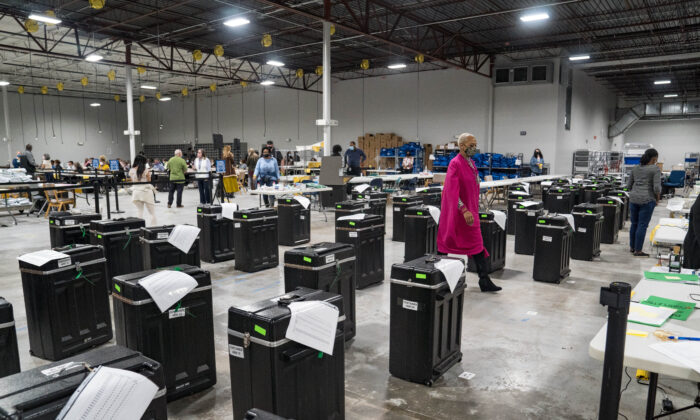 Georgia Officials Investigating After Old Voting Machines Found Dumped Near Savannah