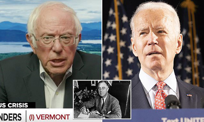 Sanders tells 'Squad' of need to push Biden to be 'most progressive president since FDR'